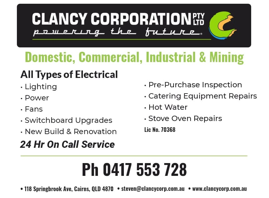 Clancy Corporation Cairns